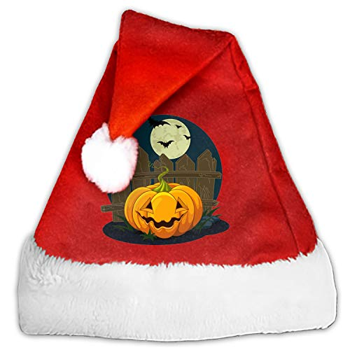 Kids Adults Christmas Hat Halloween Smile Pumpkin Santa Claus Reindeer Snowman Xmas Gifts Cap