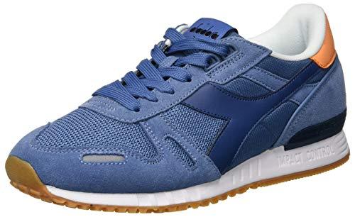 Diadora Titane Mixte Adulte Ii Chaussures De Sport, Multicolore (c7686 Denim Couronne Bleu / Noir)