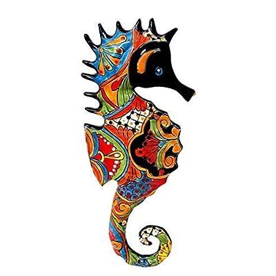 Talavera Seahorse : Garden & Outdoor
