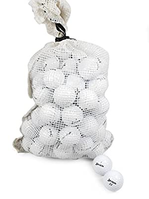 Srixon Recycled B/C Grade Golf Balls in Onion Mesh Bag (72 Piece), Assorted