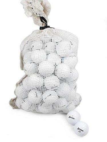 Grade Golf Balls - Srixon Recycled B/C Grade Golf Balls in Onion Mesh Bag (72 Piece), Assorted