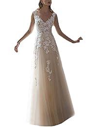 Vintage Lace Wedding Dresses for Bride 2017 Bridal Gowns Vestidos de Novia 2017