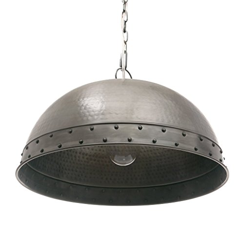 Capital Lighting Austin Allen & Company Industrial 1-light Antique Pewter Pendant (Pewter Antique Lighting)