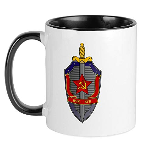 CafePress KGB Emblem Mug Unique Coffee Mug, Coffee Cup