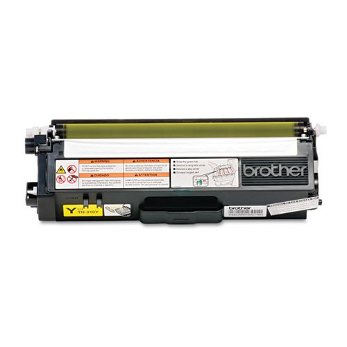 Brother Genuine TN310Y Yellow Cartridge product image