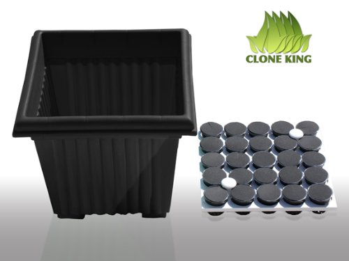Clone King 25 Site Aeroponic Cloning Machine Expect 100
