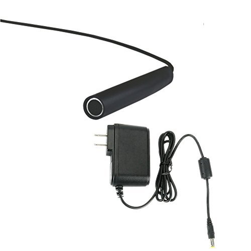 FOCUSHD Mini Microphone Audio Sound Pickup Kits Includes 60ft of Extension Cable And 12V Power Adapter For CCTV DVR Video And Audio Surveillance System [並行輸入品] B01KBR61B8
