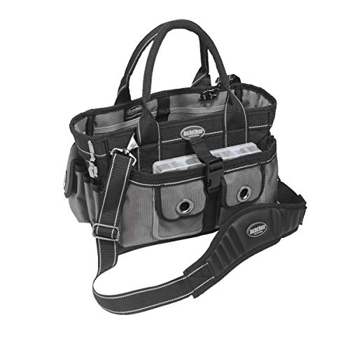 Bucket Boss Extreme Hopalong Tool Tote in Grey, 65088