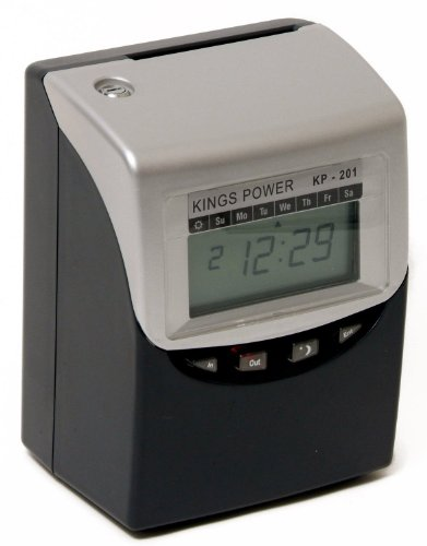 - Calculating Time Clock Kings Power KP-201 Computerised Time Recorder