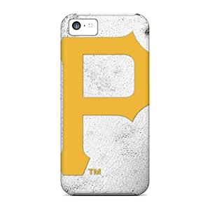 Excellent Hard Phone Covers For Iphone 5c (wxQ19072ISXN) Custom Lifelike Pittsburgh Pirates Series