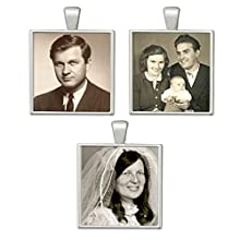 3 Pack Wedding Bouquet Photo Brides Charms