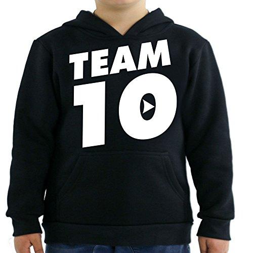 Team Kids Hoodie - Team 10 Kids Hoodie Large