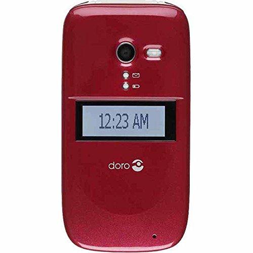 Consumer cellular DORO PhoneEasy 626 (red)