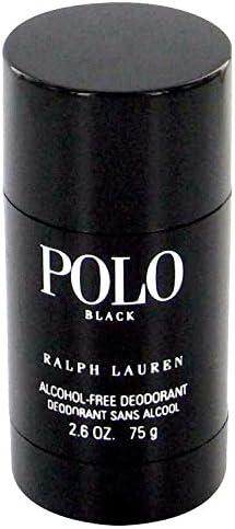 Polo Black for Men 2.6 oz Deodorant Stick by RALPH LAUREN: Amazon ...