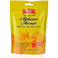 Nature's First Alphonso Mango Puree, 300 Grams (Pack of 16)