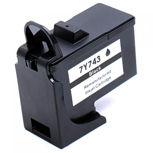 black-ink-cartridge-for-dell-7y743