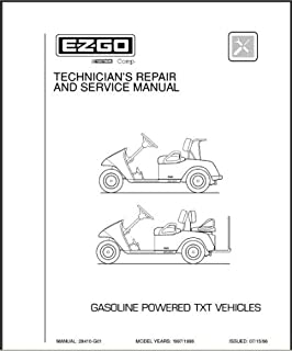 amazon com ezgo 25122g1 1989 1998 service manual for electric golf rh amazon com 1991 ezgo marathon parts manual 1988 ezgo marathon parts manual