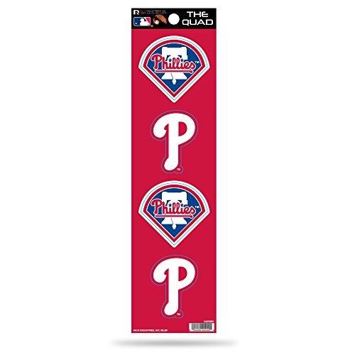 (MLB Philadelphia Phillies Quad Decal)