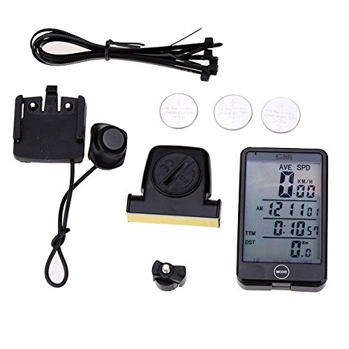 Wireless Touch Screen Waterproof Function Automatically Bike Bicycle Speedometer Stopwatch