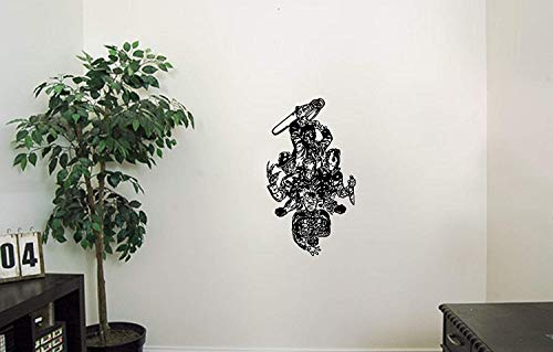 Freddy Krueger Vinyl Wall Decals Gang of Thugs Halloween Horror Decal Sticker Vinyl Murals Decors IL0153 -