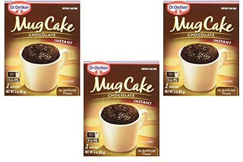 Dr. Oetker Mug Cake Chocolate Instant Cake Mix 3-Ounce (4 Count) (3 Pack) by Dr. Oetker (Image #1)