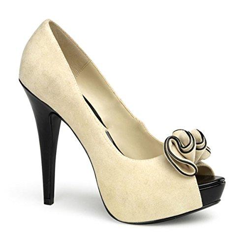 Pin Up Couture - Zapatos de vestir para mujer Beige beige