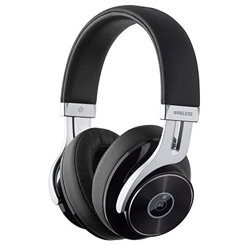 Edifier W855BT Bluetooth Headphones – Over-Ear Stereo Wireless Headphone with Microphone and Volume Control – Black
