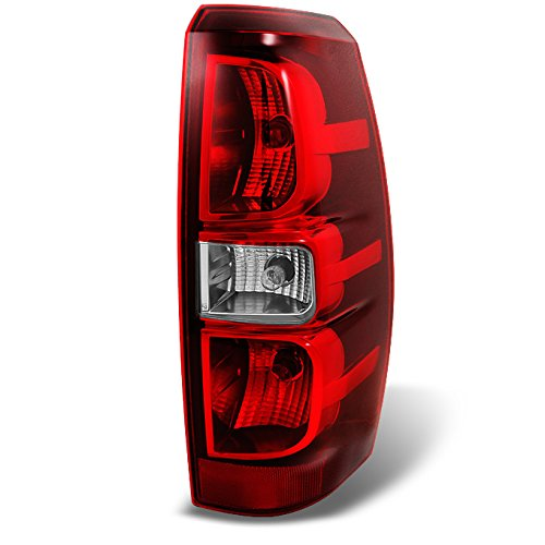 - For Chevy Avalanche Pickup Red Clear Tail Light Tail Lamp Brake Lamp Passenger Right Side Replacement