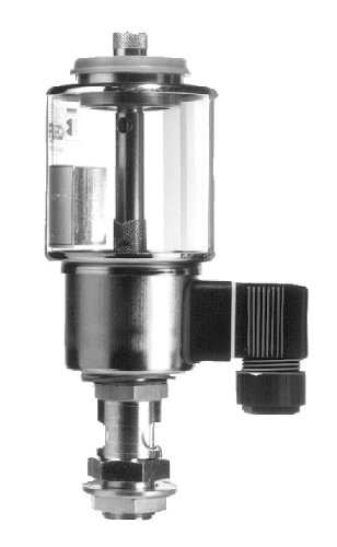Maedler 68033600 Brass Nickel-Plated Electrical Drip Feed Oiler ELO, 24V DC, 2000mL Capacity by Maedler
