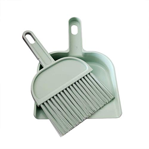 RYPET Cage Cleaner for Guinea Pigs, Hamsters, Chinchillas, Rabbits, Reptiles, Hedgehogs and Other Small Animals - Mini Dustpan and Brush Set Cleaning Tool for Animal Waste (1 Pack)
