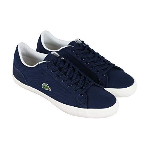 Lacoste Men's Lerond Sneaker, Navy/Off White, 10 Medium ()