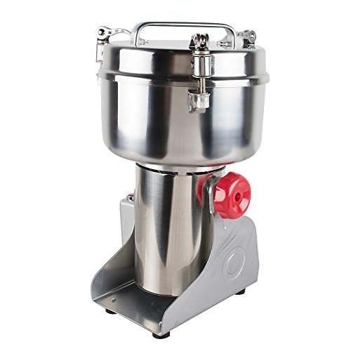 Stainless Steel Electric Herbal Medicine Grinder 1000g Portable Household Chinese Medicial Grains Spice Powder Milling Machine Kitchen for Mom, Wife by Fencia (Image #4)
