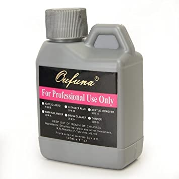 zeuxs Arpoador Professional Acryl Liquid Nail Öl für Nail Art Puder Tipps 120ml