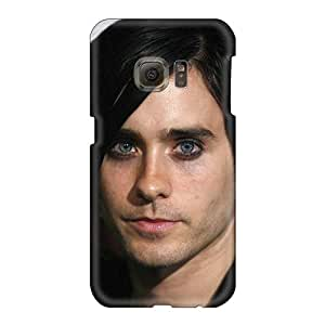 Durable Hard Phone Case For Samsung Galaxy S6 (PKy651MgrY) Support Personal Customs High Resolution 30 Seconds To Mars Band 3STM Pattern