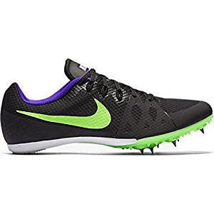 Men's Nike Zoom Rival D 9 Track Spike (Black/Fierce Purple/Green Strike, 7.5 D(M) US)