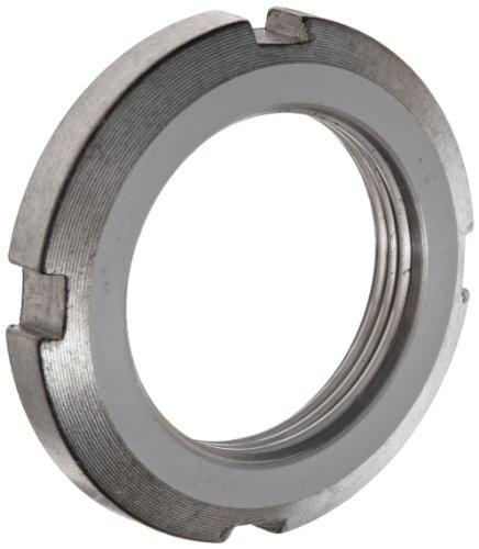 FAG KM15 Locknut, Standard, Right Hand, Metric, 75mm ID, 98mm OD, 8mm Width, 2mm Pitch