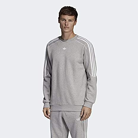 esposa Derretido cafetería  Amazon.com: adidas Originals Radkin Crew Neck Medium Grey Heather SM:  Clothing