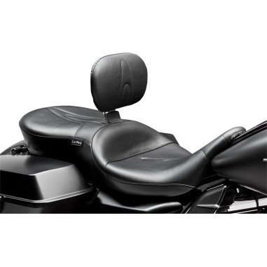 08-14 HARLEY FLHX2: Le Pera RT66 Seat With Backrest