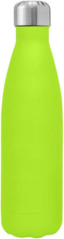 Kuayds Botella de Agua con Aislamiento al Vacío de Doble Capa de Acero Inoxidable 12 Horas de Calor y 24 Horas de Frío Sin BPA Botella Deportiva Portátil Ultra Delgada a Prueba de Fugas