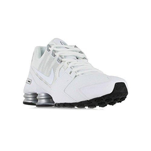 course Silver Metallic Shox Black Nike White de Avenue Chaussures ApHBI4x