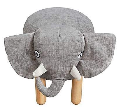 Adorable and Comfortable Nursery Smart Heffy The Elephant Ottoman Kid's Stool