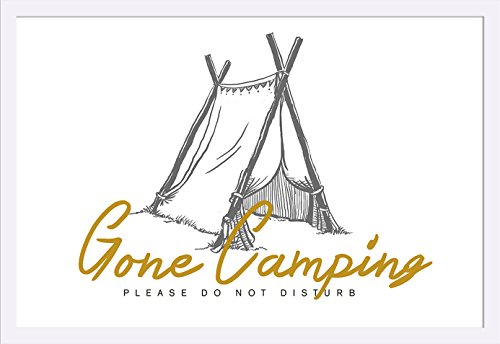 Gone Camping - Please Do Not Disturb - Tent