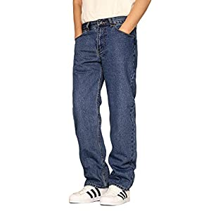 Oscar Men's Regular Fit Straight Leg Denim Jeans – 10 Colors