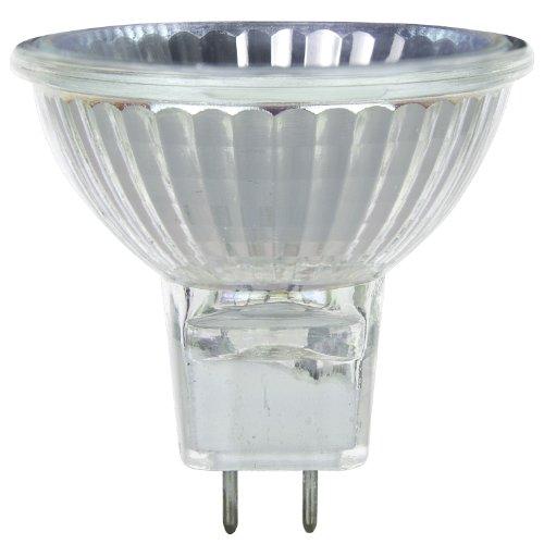 Mr16 Mini Reflector - Sunlite 50MR16/CG/GY8/FL/120V 50-Watt Halogen MR16 GY8 Based Mini Reflector Bulb, Cover Guard