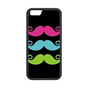 iPhone 6 4.7 Inch Phone Case Cover Black Color mustaches EUA15964433 Fashion Phone Case Generic