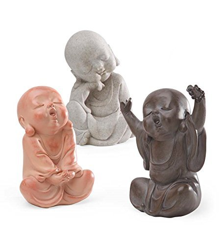 Wind & Weather HD8452 Baby Buddha Outdoor Sculpture