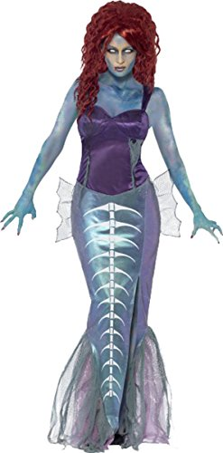 Zombie Mermaid Costume Uk Dress -