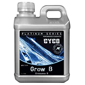 Fertilizante Plantas Marihuana Cyco Grow B: Amazon.es: Jardín