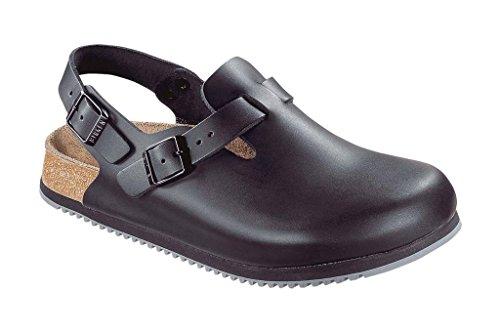 Birkenstock Unisex Professional Tokyo Super Grip Leather Slip Resistant Work Shoe,Black, 40 N EU/7-7.5 N US Men/ 9-9.5 N US Women by Birkenstock