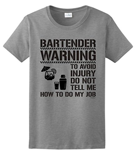 Dont Funny Bartender Ladies T Shirt